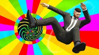 Ultimate RAINBOW SUMO Challenge! (GTA 5 Online)