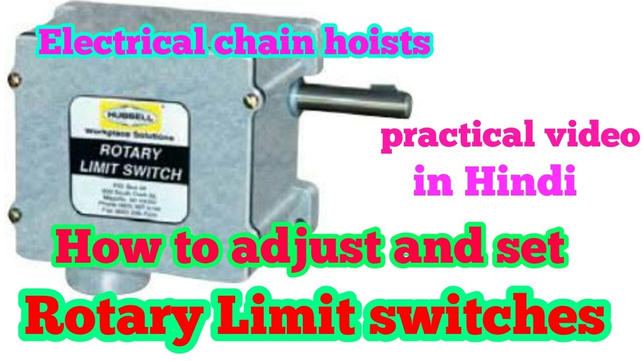 medium resolution of how to set rotary cam limit switch in hindi demo video