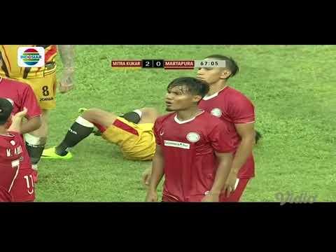 Peluang dan Goal Mitra Kukar vs Martapura FC | Piala Presiden 2018