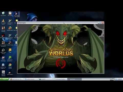 AQW Hacks Using DarkMystic