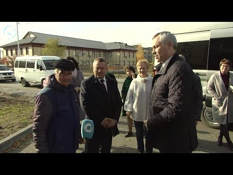 Губернатор Андрей Травников побывал с рабочим визитом в Карасукском районе