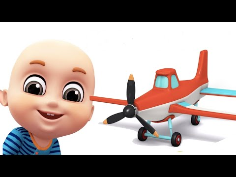 Surprise Eggs - Aeroplane Toys for  Kids - Surprise Eggs videos from Jugnu kids