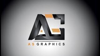 | Corel x7 3D Logo Tasarımı - AG Degrade Etkisi Logosu