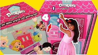 Puerta 4 Nuevos!!! Disney Doorables Mega Puerta Sorpresa Casitas Miniaturas con Personajes de Disney