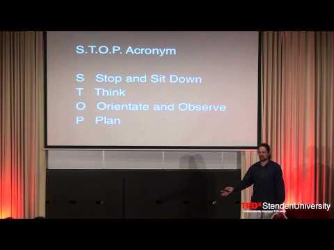 'Survival lesson #1' | Huck Middecke | TEDxStendenUniversity