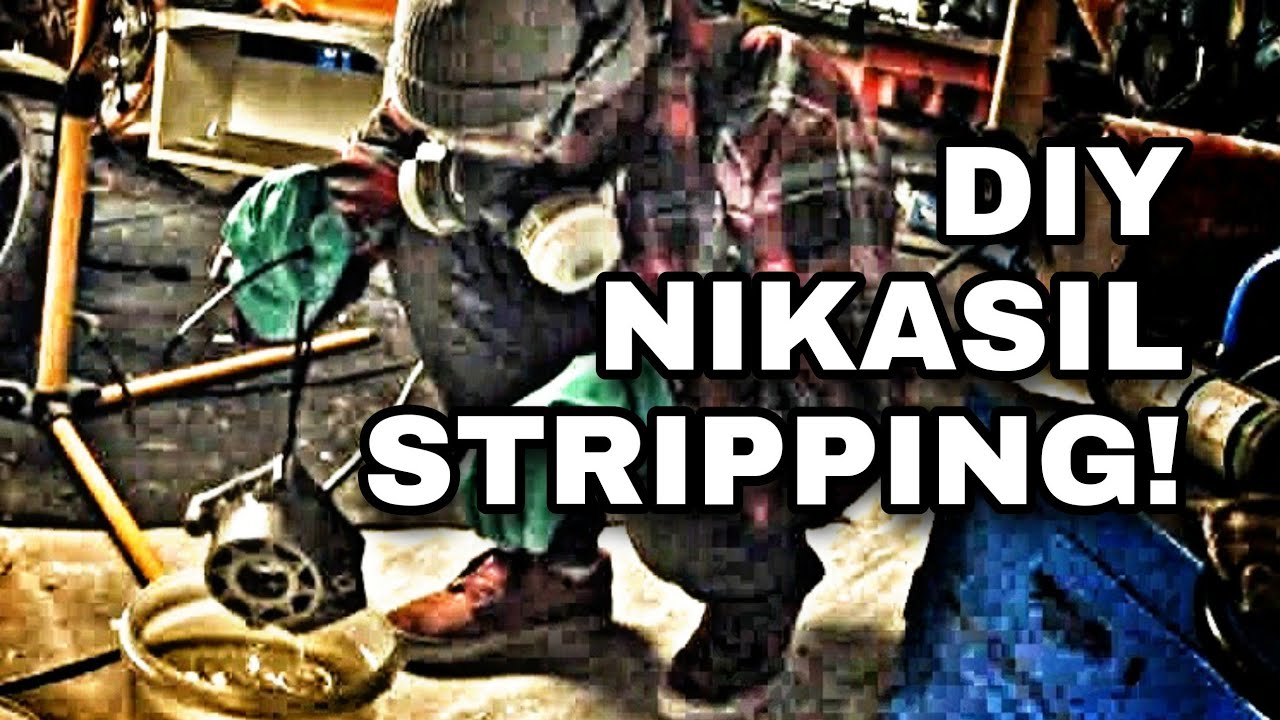 DIY Two Stroke Cylinder, Nikasil stripping - Most Powerful Two Stroke Ever.