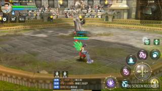 #PVP Dragon Nest Awake Mobile → Barbarian vs Saint