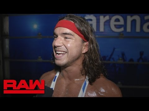 Chad Gable on facing fellow Olympian Kurt Angle on Raw: Excl