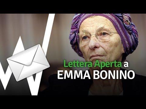 R.S.V.P. Lettera aperta a Emma Bonino