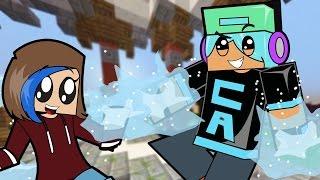 Minecraft / We have Elsa Ice Powers!! / Mineplex Skywars / Gamer Chad Plays