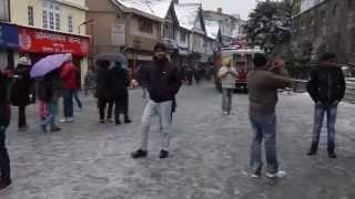 masti @ mall road Shimla 2012
