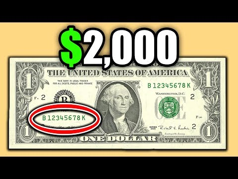 DO YOU HAVE A SUPER RARE DOLLAR BILL? THESE CURRENCY BANKNOTES ARE WORTH A LOT OF MONEY!!