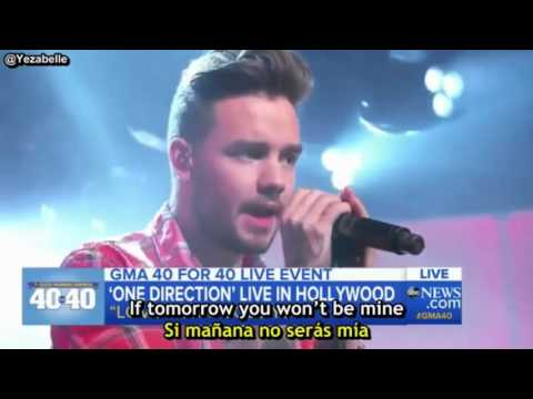 One Direction - Love You Goodbye (GMA) [Lyrics + Sub Español]