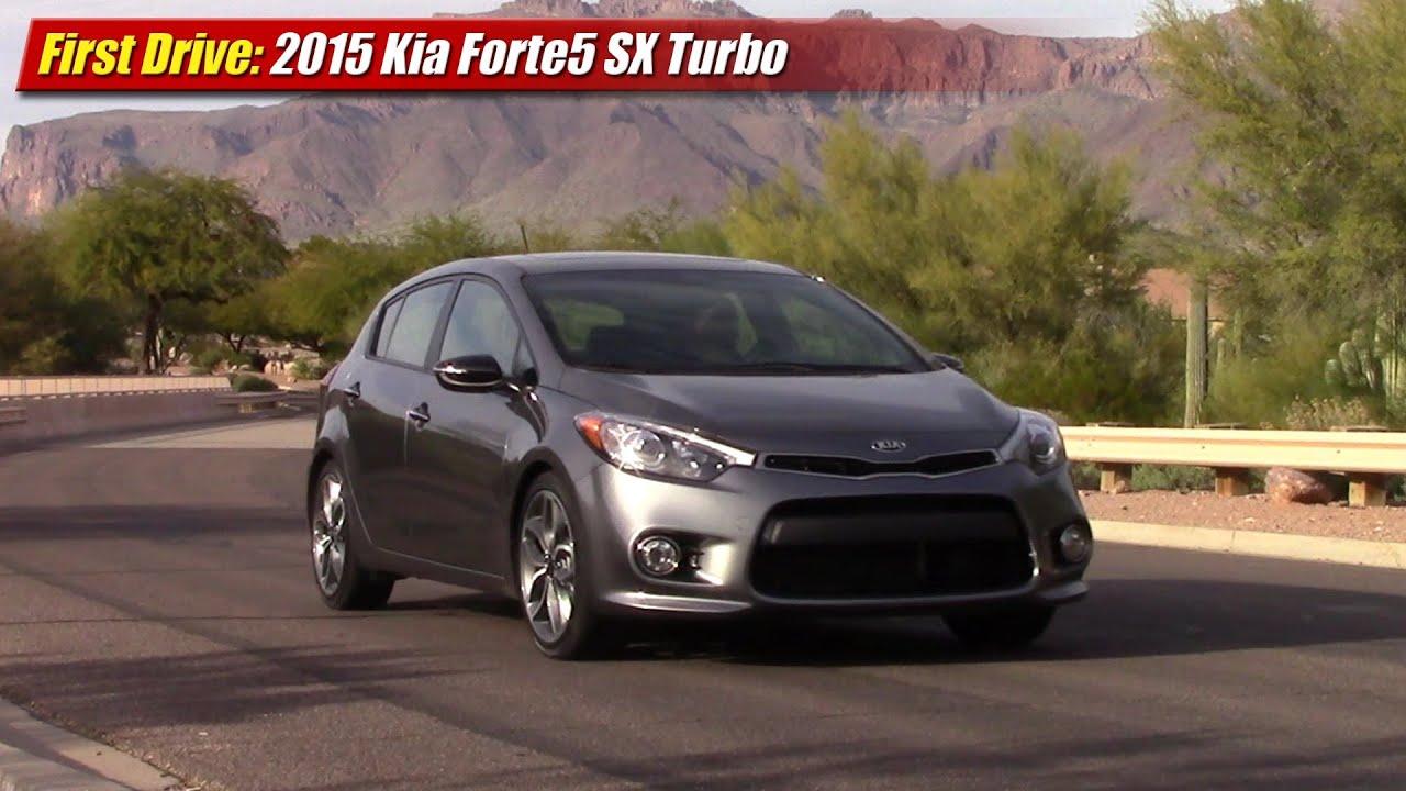 First Drive: 2015 Kia Forte5 SX Turbo   YouTube