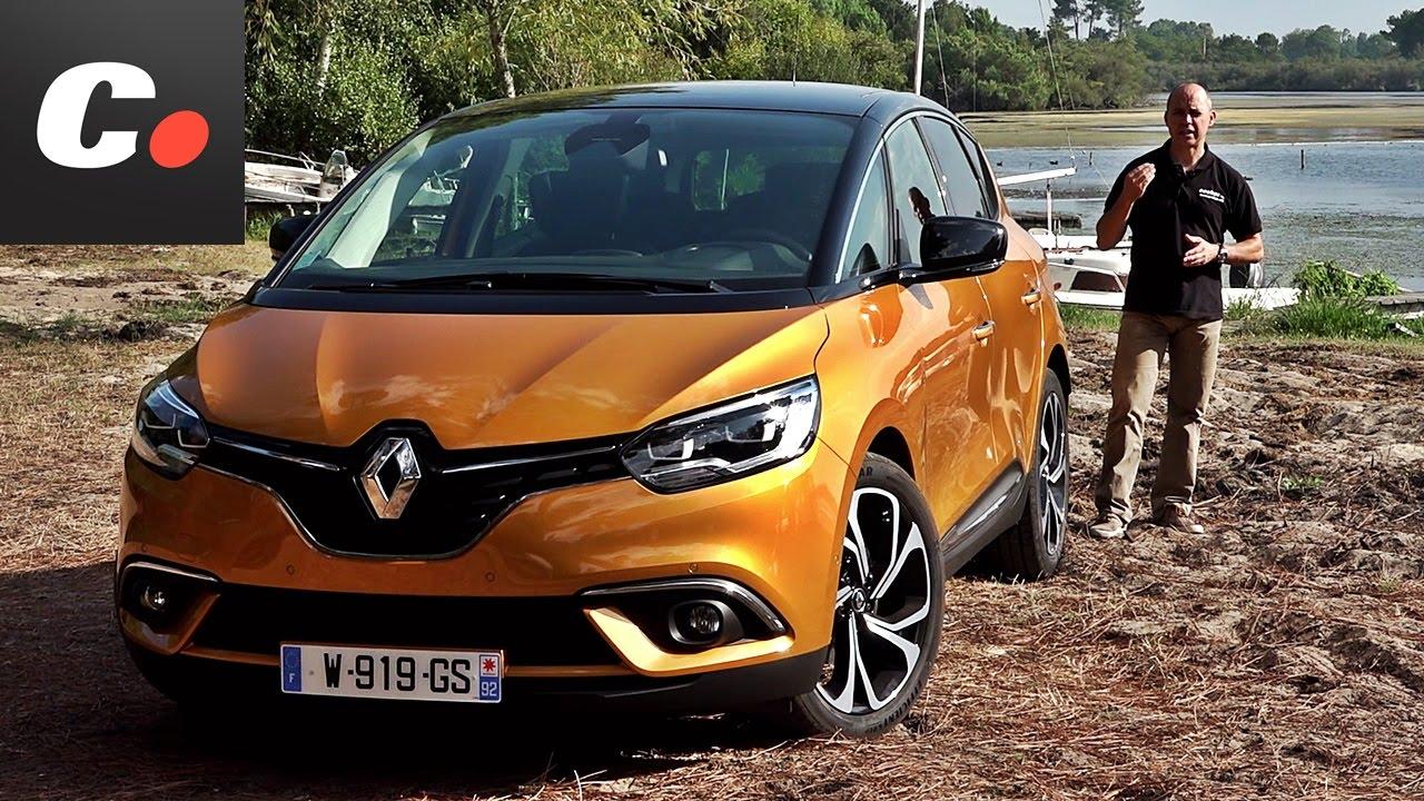 renault scenic grand scenic primera prueba test review contacto cochesnet youtube