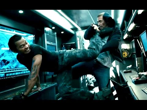 Furious 7 Movie CLIP - Tony Jaa Fights Paul Walker (2015) Action