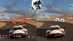 GT Sport - How to Turn OFF HUD, BRAKE Alert And The Ghost [Read Description For Details]
