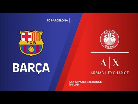 ÖZET | FC Barcelona - AX Armani Exchange Milan Videosu