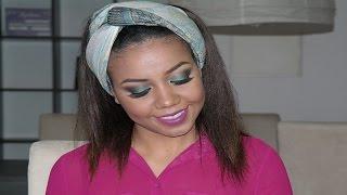 Maquiagem inspirada na cantora Pérola - Tudo para mim