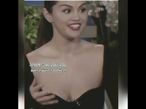 Selena Gomez freakout by seeing Jennifer Aniston / credit to crownofsel