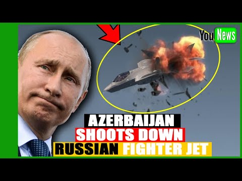Putin is very angry! Azerbaijan Shoots Down Russian fighter jet Su 25.
