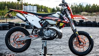 KTM EXC 300 TPI Supermoto project