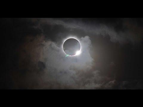 Así se vio en el mundo el eclipse solar
