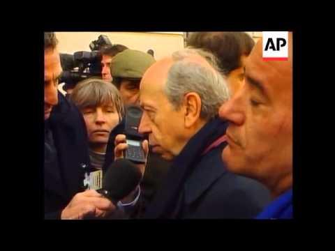FRANCE:KOSOVO TALKS: EUROPEAN FOREIGN MINISTERS - LATEST