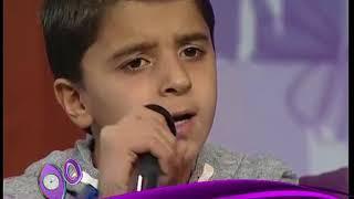 أول لقاء تلفزيوني مع الفتى السور�...