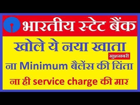 Basic Saving Bank Deposit Account ( BSBD Account ) - SBI Start New Type Of Saving Account