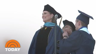 See Highlights From Savannah Guthrie's GWU Commencement Address | TODAY