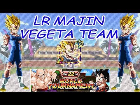 Live Dokkan Battle Team Lr Majin Vegeta 22nd World Tournament
