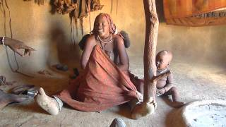 visiting a Himba Village ( Namibia )