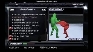 AJ Styles: Wie das Anlegen von Styles Clash Finisher In SVR 11 ?