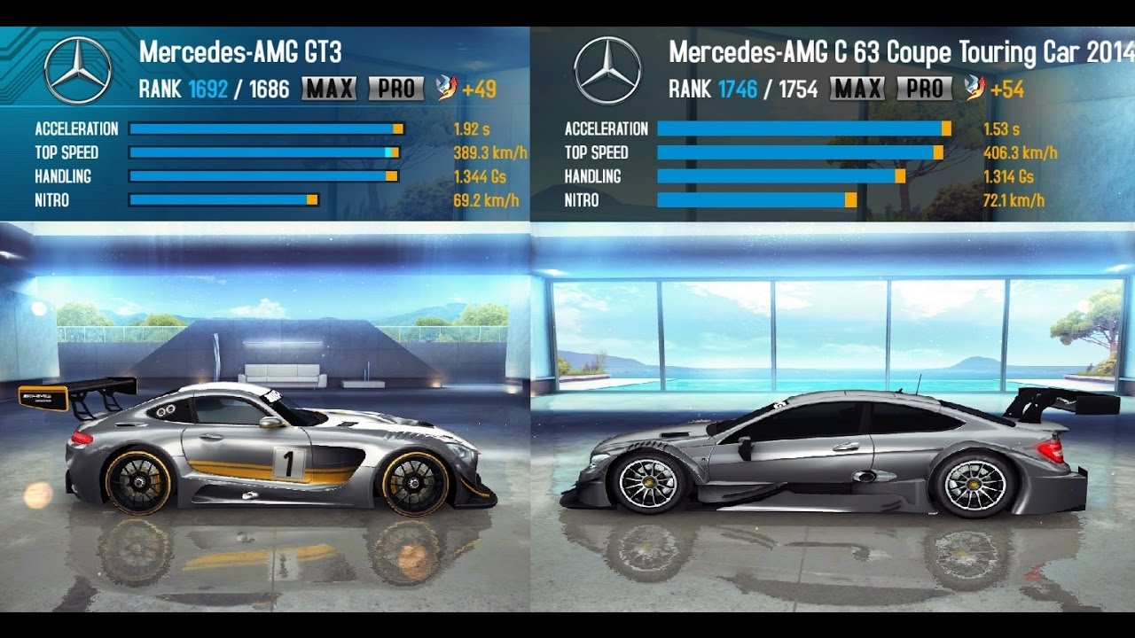 Mercedes amg gt3 vs mercedes amg c 63 coupe touring car for Mercedes benz touring car