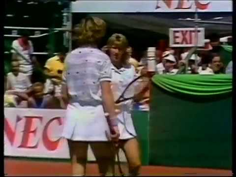 02.08.1987 - Finale Federation Cup in Vancouver D-USA