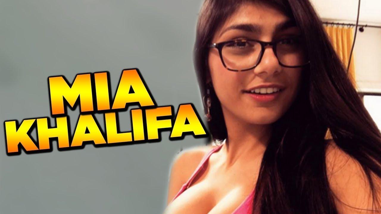 """Atriz Porno Kalifa foi transar com a """"mia khalifa"""" e brochou!"""