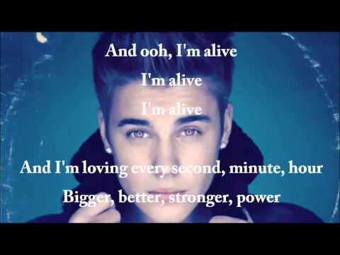 That Power - Justin Bieber ft. Will.I.Am (lyric video)