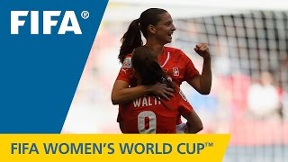 HIGHLIGHTS: Switzerland v. Ecuador - FIFA Women's World Cup 2015(Canada 2015: The Swiss and Ecuadorans combined to equal a record number of goals scored with 11, with two Swiss players scoring hat-tricks. FIFA Women's ..., 2015-06-13T01:19:00.000Z)