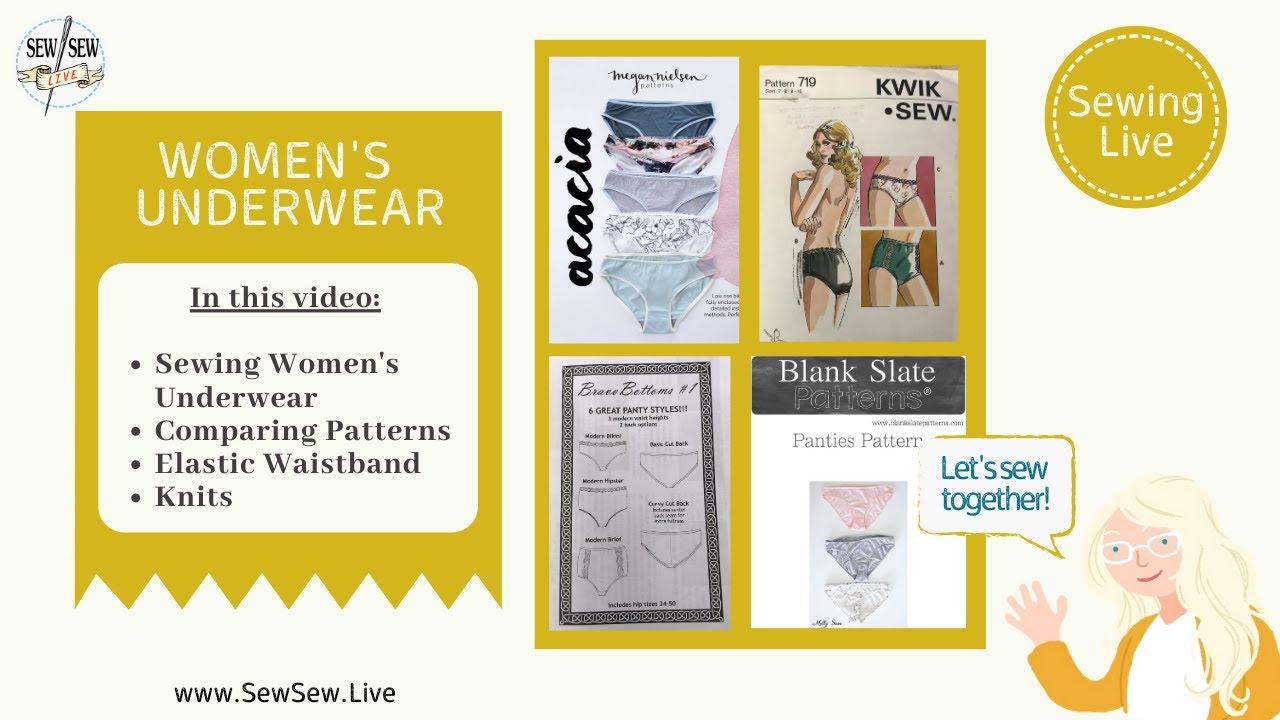Download Sewing Women's Underwear...Sew Sew Live