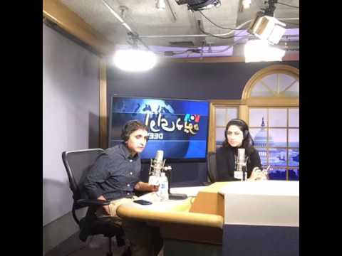 Face Book Live from VOA Deewa Hi5 Show on 12-31-2016
