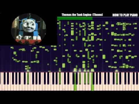 HOW TO PLAY PIANO - Thomas the Tank Engine Theme  [HARD Piano Tutorial]