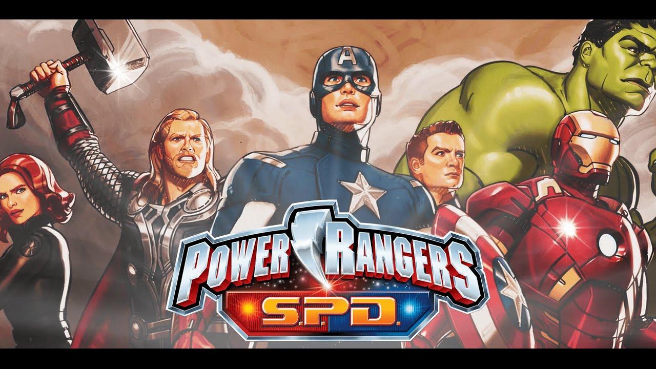 Avengers Endgame Opening |  Power Rangers SPD Style
