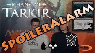 SpoilerAlarm - Khans of Tarkir - Blau & Schwarz - Spielraum Wien