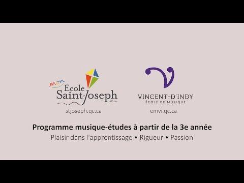 Musique-études au primaire - École de musique Vincent-d'Indy