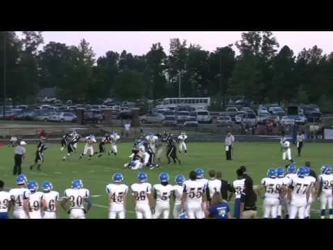 Zack Dudan - #10 - Freshman  Varsity Linebacker - 2012 Season Clips