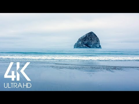 Ocean Waves Relaxation 8 HOURS - Soothing Pacific Ocean Waves Sound - 4K Nature Soundscapes