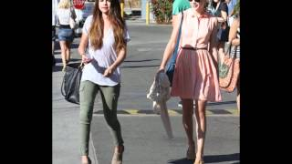 Selena Gomez: At Paradise Cove In Malibu With Taylor Swift (June 27)
