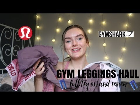 8d6445382ab5d TOP 5 GYMWEAR LEGGINGS / FULL TRY ON HAUL / GYMSHARK / LULU / BARESSWEAR by  Anabel Lawton
