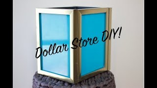 Dollar Store DIY Ep. 33 - How To DIY Picture Frame Lantern Video